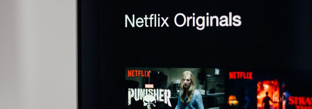 Netflix On Computer Screen